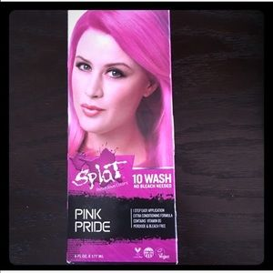 NWT Splat Pink Wash Out 10 Washes Hair Dye Color